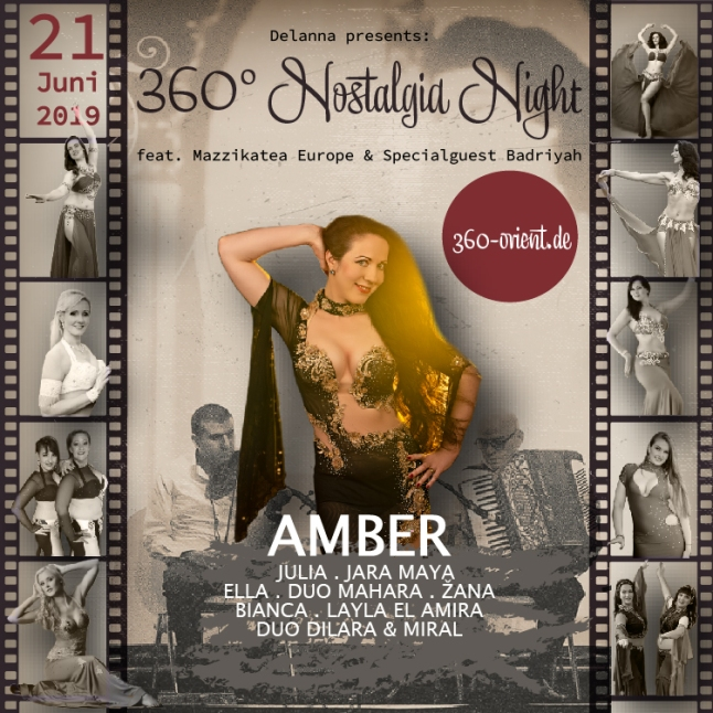 "Amber for ""Nostalgia Night"""